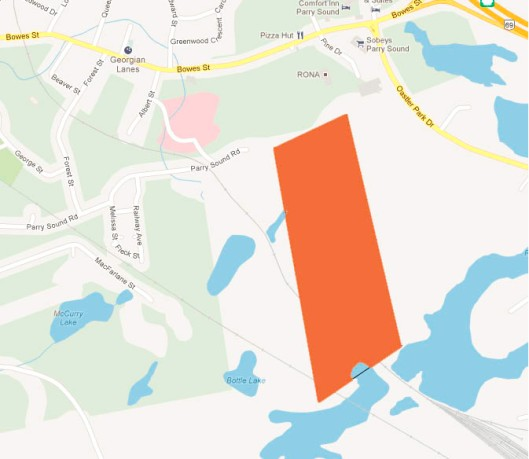 Proposed Area RoseWater Boundary Adjustment