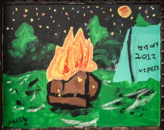 Bridge Art - Burn