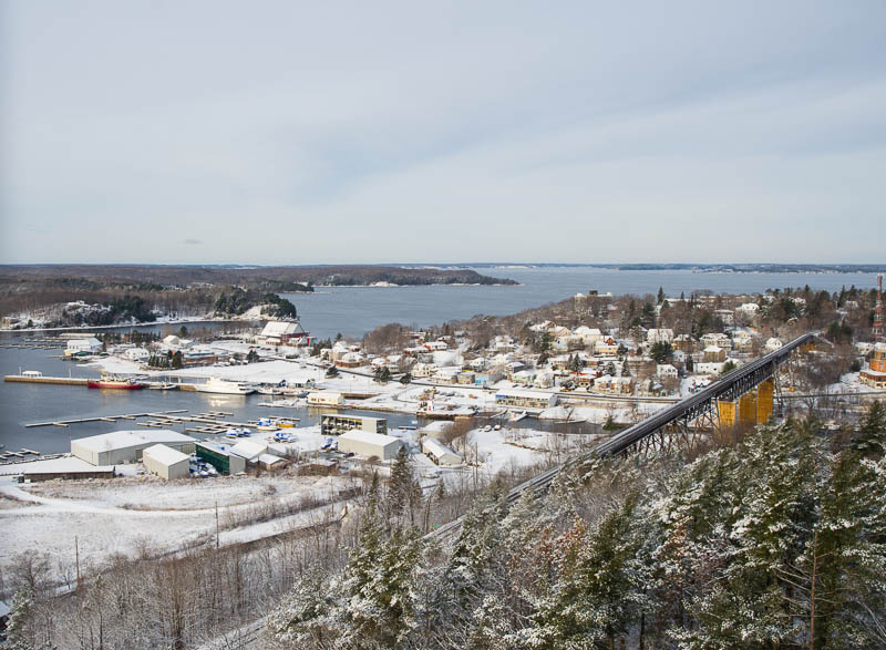 Early Season Snow - Parry Sound (2012)